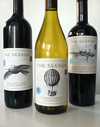 Beinkandescent Wine Labels As Art